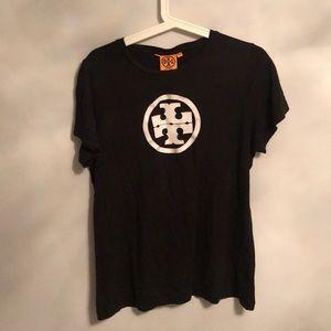 Black tory Burch t shirt sIze xl